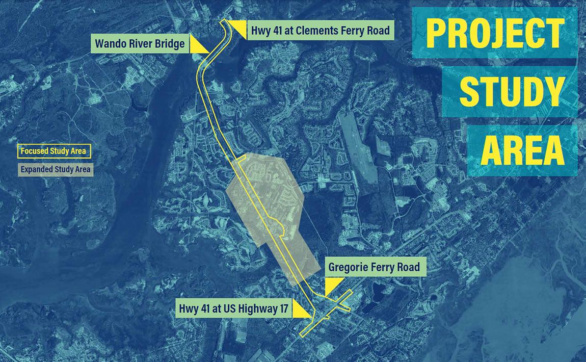 Hwy 41 Map Highway 41 Corridor Improvements